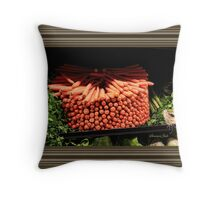 Carrots ~ Go Round and Round Throw Pillow