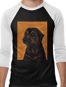 Rottie Bullmastiff Mix Men's Baseball ¾ T-Shirt