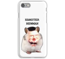 Hamster Newman  iPhone Case/Skin