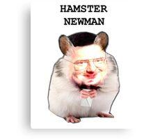Hamster Newman  Canvas Print