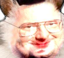 Hamster Newman  Sticker