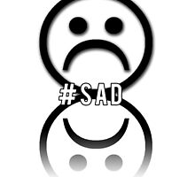 #Sad - Sad Face Reflection by necrophile