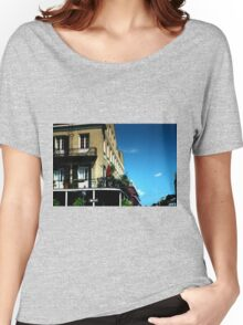 Old French Quarter Buildings Women's Relaxed Fit T-Shirt