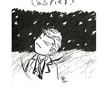 Castiel And The Fallen Angels by EddieER