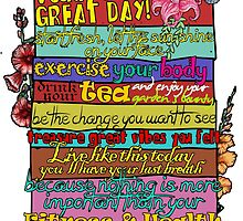 Today Is A Great Day by papabuju