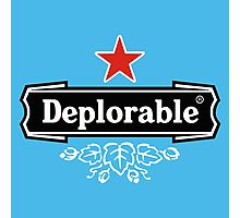Deplorable Design Photographic Print