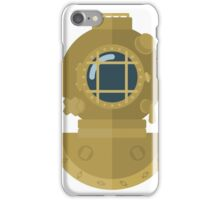 Diving Helmet iPhone Case/Skin