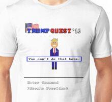 Trump Quest '16 Adventure Game T-Shirt - Retro Computer Game  Unisex T-Shirt