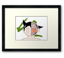 Bust of Astro Boy Framed Print