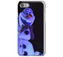 Olaf Paint the Night iPhone Case/Skin