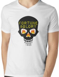 Jones-ing for Adventure Mens V-Neck T-Shirt