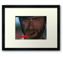 Man With No Name Framed Print
