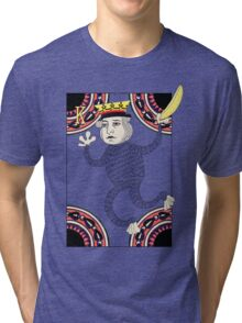 Monkey King Fool for Love Tri-blend T-Shirt