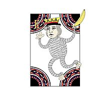 Monkey King Fool for Love Photographic Print