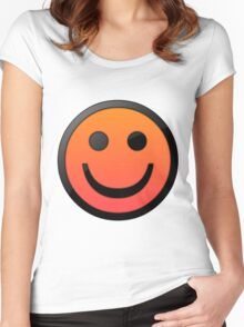 happy fade Women's Fitted Scoop T-Shirt