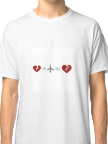 Travel Heals A Broken Heart Classic T-Shirt