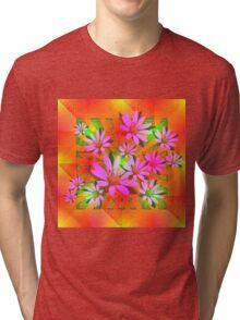 Delicate Daisies Tri-blend T-Shirt