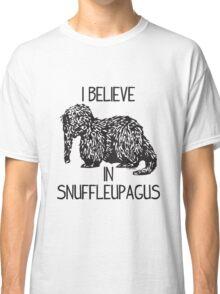 I Believe In Snuffleupagus Classic T-Shirt