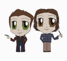 Winchester Chibis by sybilthorn