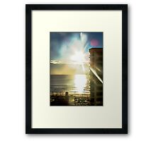 Highrise Sunrise Framed Print