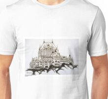 Fairmont Chateau Frontenac, Canada Unisex T-Shirt