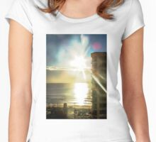 Highrise Sunrise Women's Fitted Scoop T-Shirt