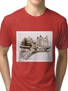 The Fairmont Chateau Laurier, Ottawa, Canada Tri-blend T-Shirt