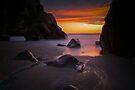 West coast sunset by Paul Mercer