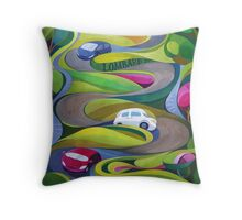 Lombard Street the Crookiest street  Throw Pillow