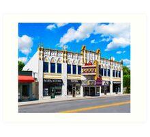 Atlanta's Old Roxy - Landmark Concert Venue Art Print