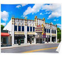 Atlanta's Old Roxy - Landmark Concert Venue Poster