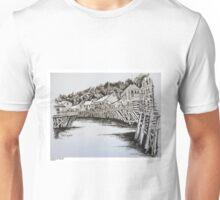 Creek Street, Ketchikan, Alaska Unisex T-Shirt
