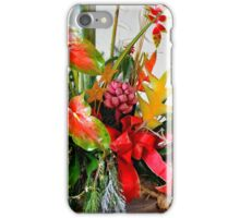 A Holiday Tropical Bouquet iPhone Case/Skin