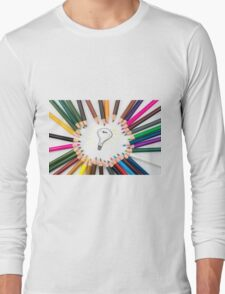Lighting Bulb as Idea Concept Long Sleeve T-Shirt