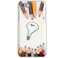 Lighting Bulb as Idea Concept iPhone Case/Skin