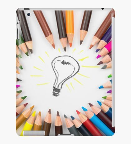 Lighting Bulb as Idea Concept iPad Case/Skin
