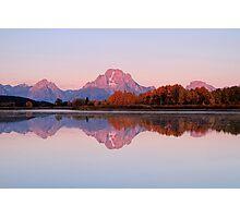 Alpen Glow Photographic Print