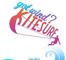 Kite Surfing by papabuju