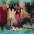 The Gathering - Abstract by Sherri Of Palm Springs by Sherri     Nicholas