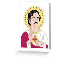 Saint Pablo - Narcos Greeting Card