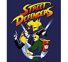 Street Defence Photographic Print