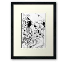 Shintaro Kago - Abstractions Framed Print