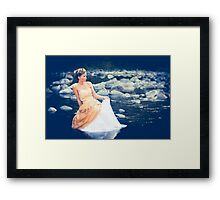 Maiden of the Light Framed Print