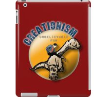 Creationism - unbelievable fun iPad Case/Skin