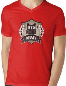 BTS ARMY Mens V-Neck T-Shirt