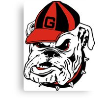 g bulldog Canvas Print