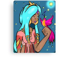 Elven Bird Canvas Print