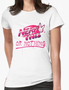Nerf This nothing Womens Fitted T-Shirt