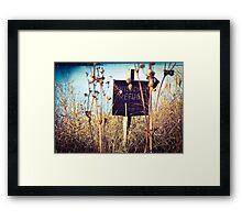 Wildlife Refuge Framed Print