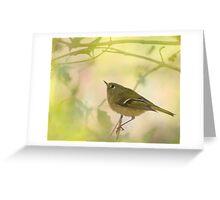 Yellowbird  Greeting Card